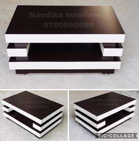 Exclusive designed center tables coffee tables in 3/2 feet cash on d