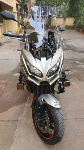 Parsi owned Kawasaki Versys 1000, low mileage