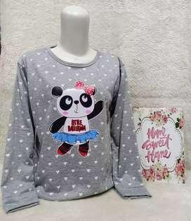 Sweater bahan babyterry ld 100 cm