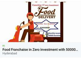 Franchise food delivery with zero investment