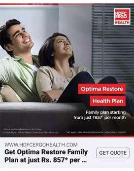Insurance job  life insurance (LIC) helath insurance (HDFC ergo)