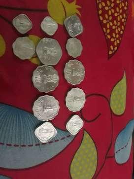 Aluminium Indian old coin