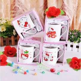 Gelas/Mug/Cangkir Keramik Karakter