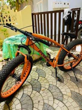 Fat cycle fat tyare