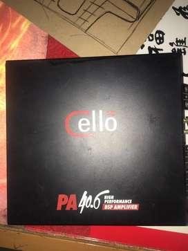 Power cello PA 40.6 ( dsp ) & subwoofer visonik 10inch