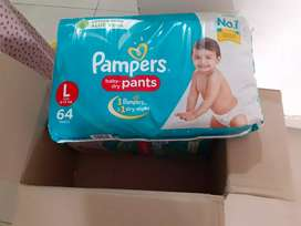 2 packet of Pampers