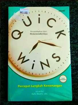 Buku Pengembangan Diri Quick Wins Percepat Langkah Kemenangan
