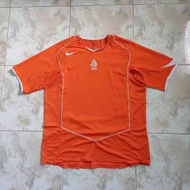 Jersey Belanda Home 2004 2nd Original