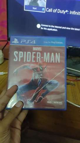 Spiderman PS4 neat. Disc