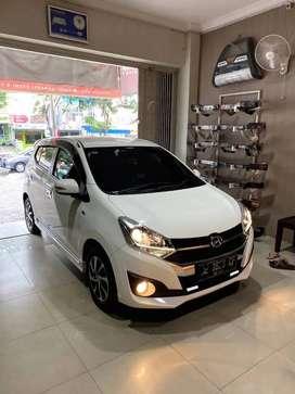 Daihatsu Ayla 1.2 R Matic mulus KM rendah
