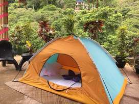 Camping Tent complements your lifestyle and looks attractive as well,