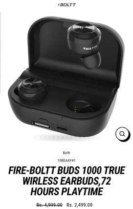 Fire bolt buds be 1000