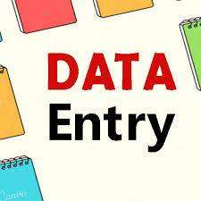 DATA ENTRY ( WORK FROM HOME )