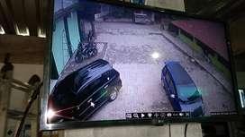NBP AHD Paket Lengkap Kamera CCTV - Putih [8 Channel/ 2.0 MP