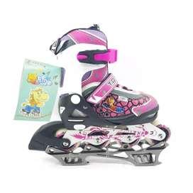 Sepatu roda inline skate anak
