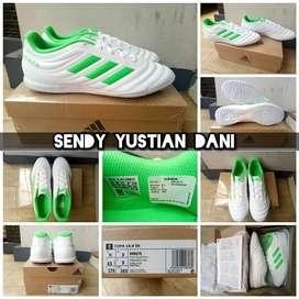 ORIGINAL Adidas Copa 19.4 IN Sepatu Futsal White Green
