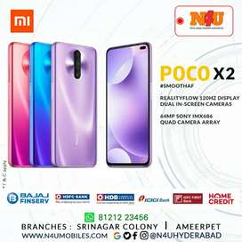 Poco x2 now available at your favourite store N4U mobiles Ameerpet