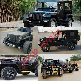 Open Modified Jypsy Jeep  & Thar Jeeps