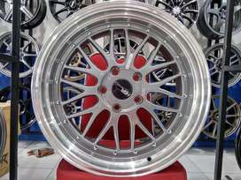 Jual Velg Racing BMW Type DFB Grey Machine Lips Ring 18