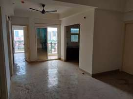 3 BHK semi furnished flat on rent in ace city