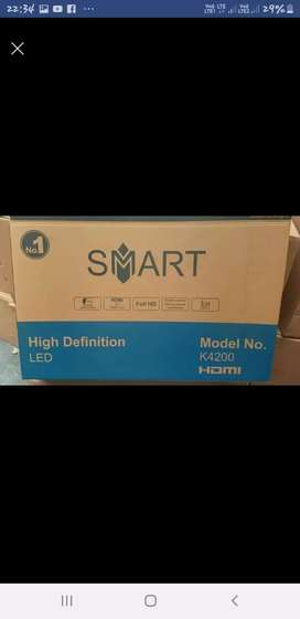 """New led tv HD 24"""" with 2 year Warranty home delivery free and service"""