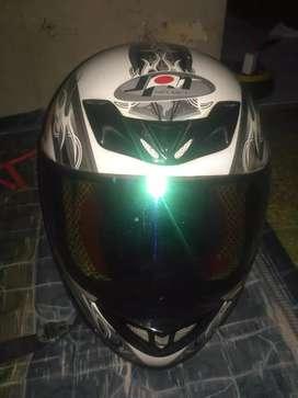helm Full face JPN helmet
