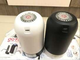 Isi Pompa Air Galon Elektrik Hitam dan Putih Black White