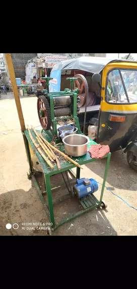 New sugar cane machine brand with new moter