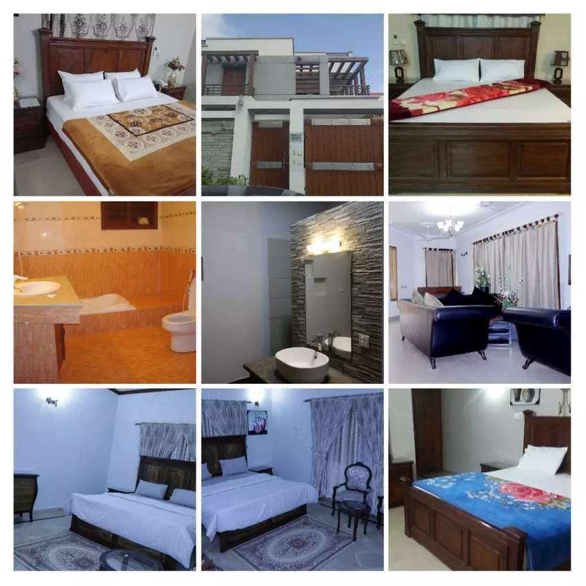 Fully furnished rooms available for rent in DHA 0