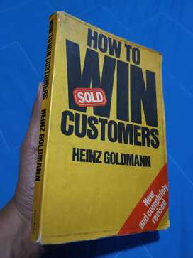 Buku Vintage thn 1973 How To Win Customers
