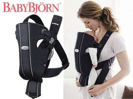 Babybjorn Original Baby Carrier Blue Cotton Like choice Avent Tommee