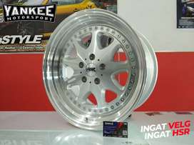 Velg Mobil HONDA ACCORD NEW Ring 18 model terbaru HSR BAVARIA SMF