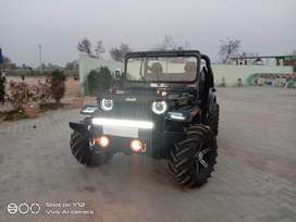Panwar modified automatic Jeep