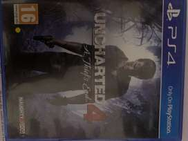 PS 4 game Uncharted 4 A thief's end