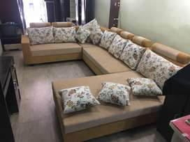 Brand New l shaped sofa set at very afforable