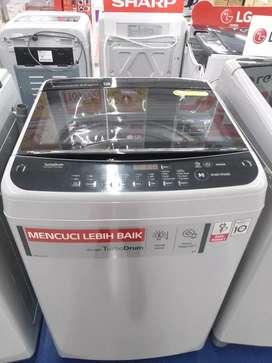 Mesin Cuci LG Smartinverter, Bisa di cicil,Bunga 0% Proses 3menit