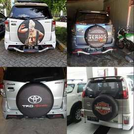 Cover/Sarung Ban Serep Honda CRV/Rush/Terios my adventur taft ada juga