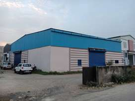 Industrial Shed Available For Rent In Bakrol