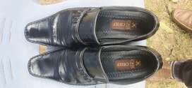 Chief boot leather shoes black color 10/44 no.
