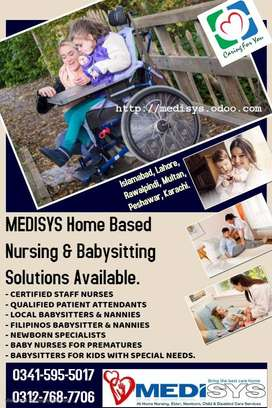 Medisys.Nurse & Babysitter available at 24 hours