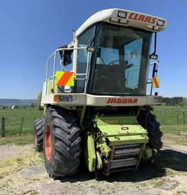 CLAAS JAGUAR 840 4WD SILAGE HARVESTER MACHINE
