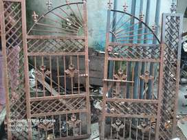 Iron painted Gate