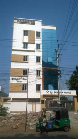 2bhk flat 1km from kbn college chittinagar