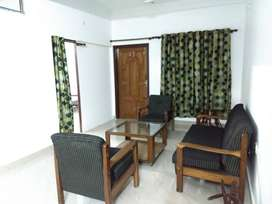 A fullyfurnished 1bhk apartment available in zoo road for rent