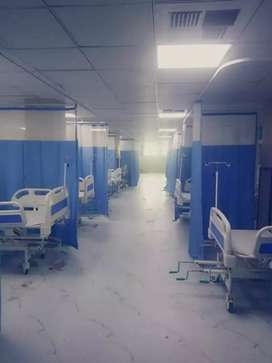Hospital Curtain Relling Available