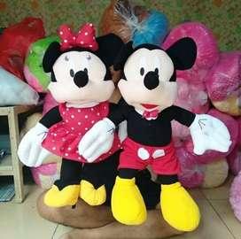 Boneka mickey mouse sepasang