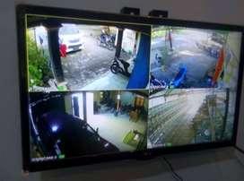 Paket pemasangan 4 titik Camera CCTV 2 MP, Free kabel gan