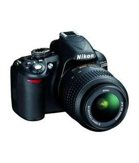 Nikon D3100 Digital SLR Camera (Black)