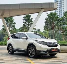 (Lulus Inspeksi) Honda CRV 1.5 Turbo A/T 2019 Kondisi Super!
