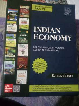 INDIAN ECONOMY BY RAMESH SINGH (IAS) (UPSC)